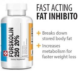 Forskolin fuel weight loss